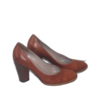 Marc by Marc Jacobs Brown Leather Heels Size 36